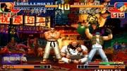 拳皇97:連招欣賞,金家藩變成暴走人物,極限操作無限飛翔腳