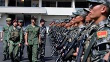 东盟多国军队在华演习,底气大增态度强硬,美军慌了防长亲自游说