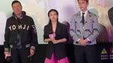 寵愛的首映會上,張子楓和吳磊一起互動的畫面太有愛了,有站這對cp的嗎?