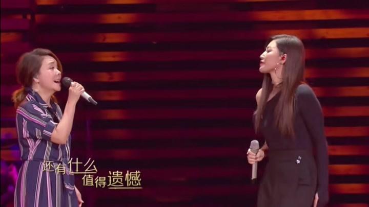 辛曉琪和黃麗玲合唱的《空窗》太有感覺了吧,柔情似水直戳人心