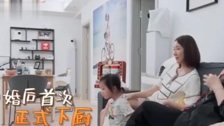 王祖藍獨自做飯,李亞男一個口誤,暴露王祖藍真實生活