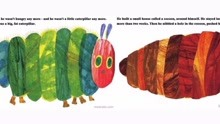 英语启蒙有声绘本《 The very hungry caterpillar》