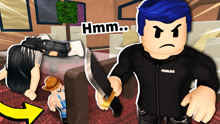 I made my Roblox character VERY SMALL to hide from the murderer